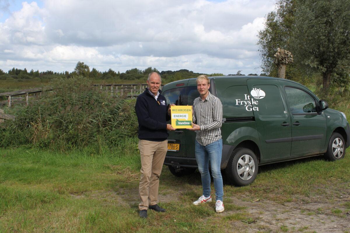 It Fryske Gea krijgt Energie VanOns