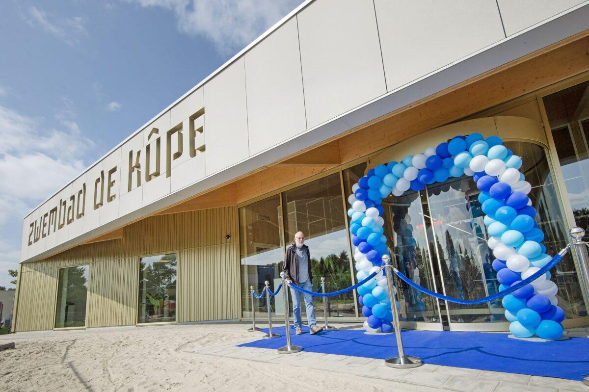 Energieneutraal en ultramodern zwembad in Freonen-gemeente Achtkarpspelen opent deuren