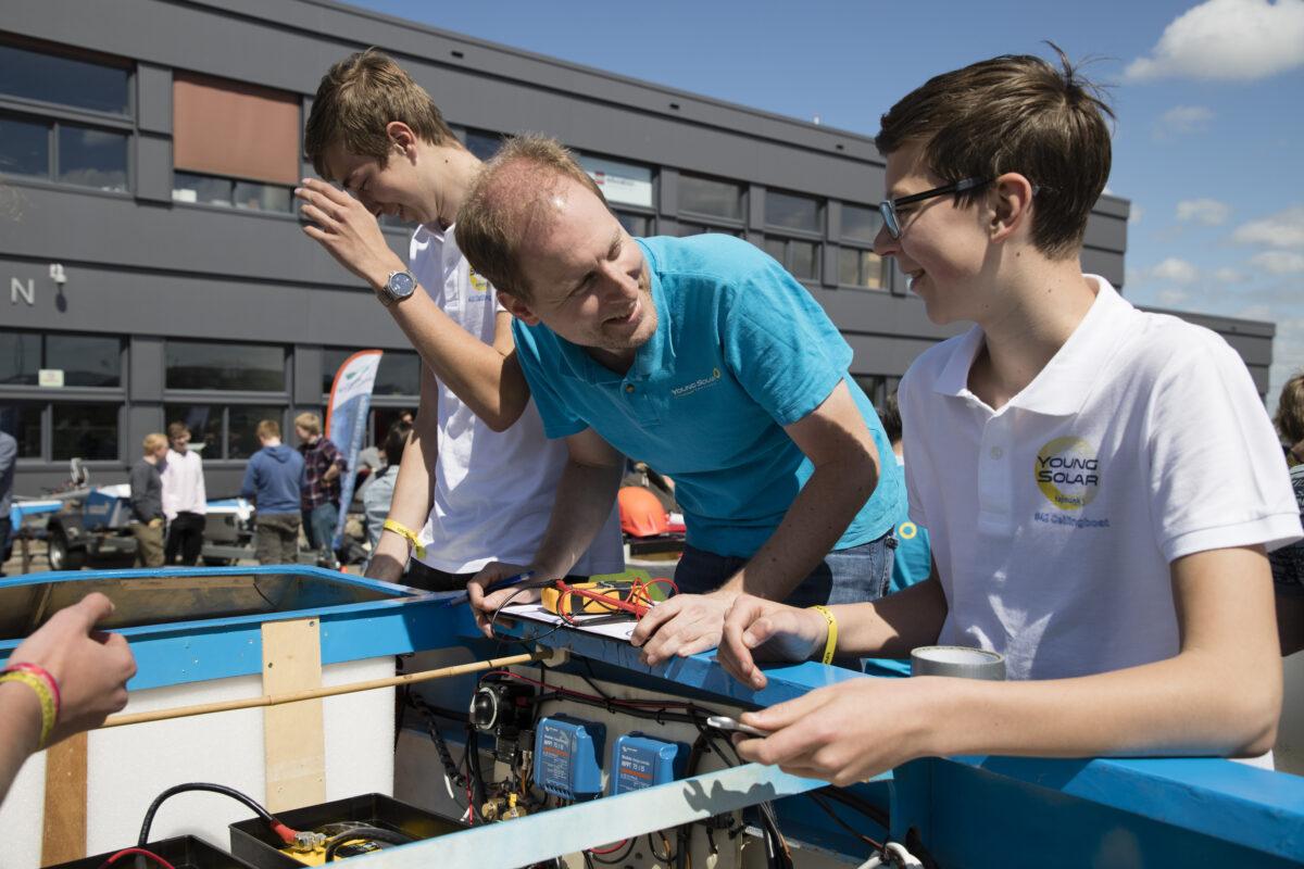 Young Solar Challenge zonneboten strijken neer voor laatste wedstrijd seizoen in Grou op 18 september