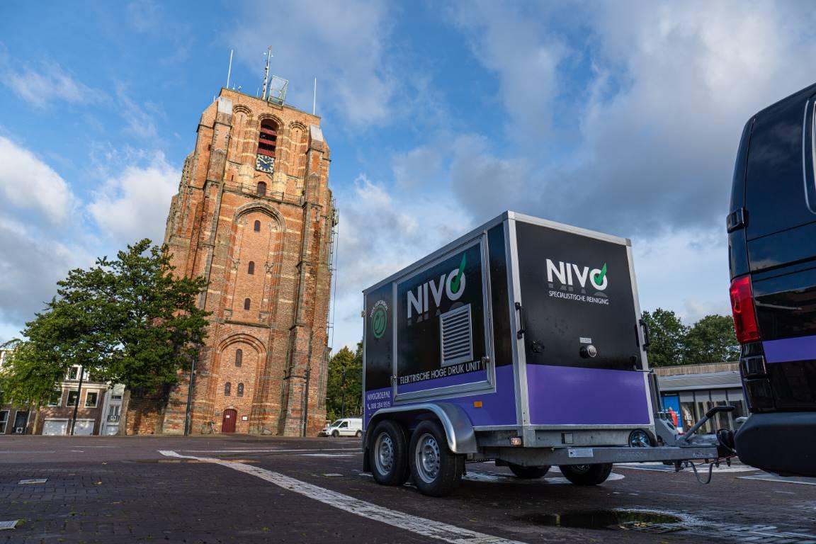 NIVO neemt eerste elektrisch aangedreven hogedrukunit in bedrijf