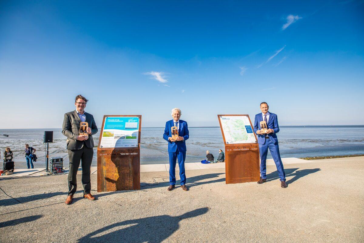 Lauwersmeerdijk versterkt door Wetterskip om gevolgen klimaatverandering op te vangen